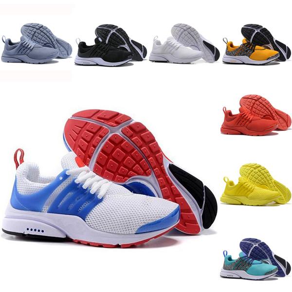 Compre Nike Air Presto Flyknit Ultra Nuevo 2019 Presto Fly Ultra Olympic BR QS Hombres Mujeres Zapatos Para Correr Azul Marino Negro Moda Casual