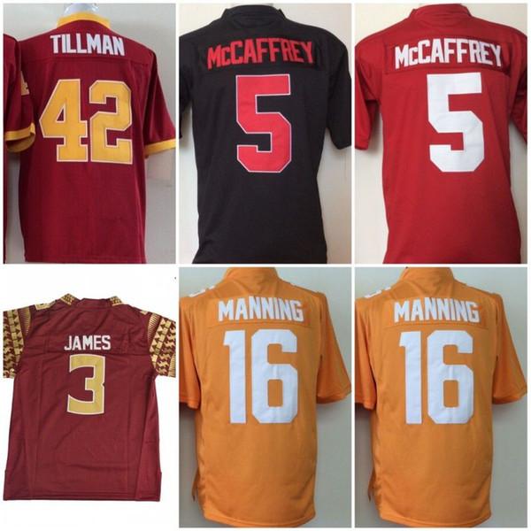 28226ffb1 ... Football Jerseys  . Youth College Arizona State Sun Devils 42 Pat  Tillman Florida State Seminoles  3 Derwin James