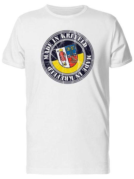 Tee-shirt pour hommes Made In Krefeld Postal Flag