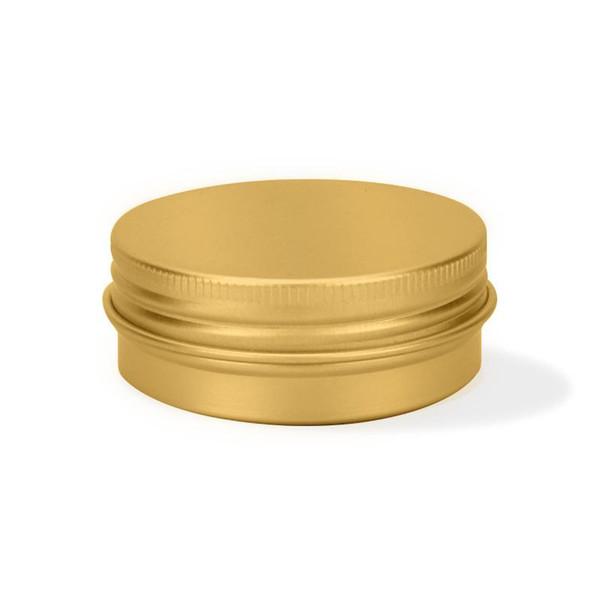 30 мл алюминиевый кувшин для хранения чая составляют многоцелевой коробочку круглый женщины и мужчины золотой красный 1 мл C1