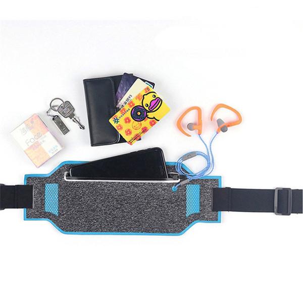 Unisex Running Hüfttasche Gürtel Sport Gürtel Handy für Männer Frauen mit versteckten Beutel Sporttaschen Running Hüfttasche