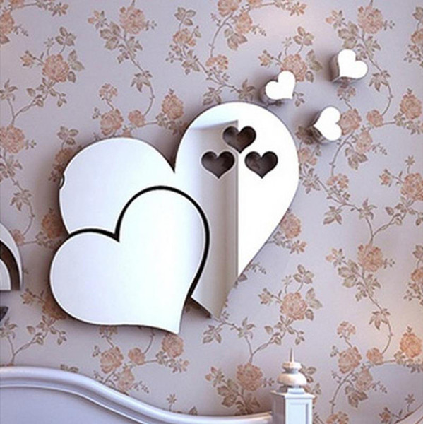 3D Wall Sticker Decal Home Room Art Mural Decor Removable For Bedroom Living Room Home Decor 5 Colors