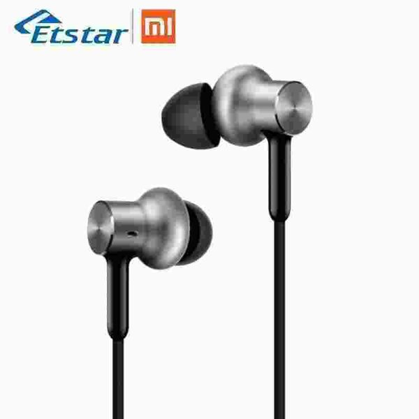 Original Xiaomi Hybrid Pro HD Earphone/Mi Headphones Pro Circle Iron Wired Control With Mic for Xiaomi Redmi 4x Mi A1
