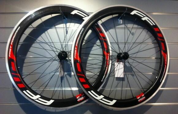 Cheap FFwD f6r clincher full carbon 60mm Alloy wheelset, 700C road bike wheels Clincher Road Bicycle Wheels 700C