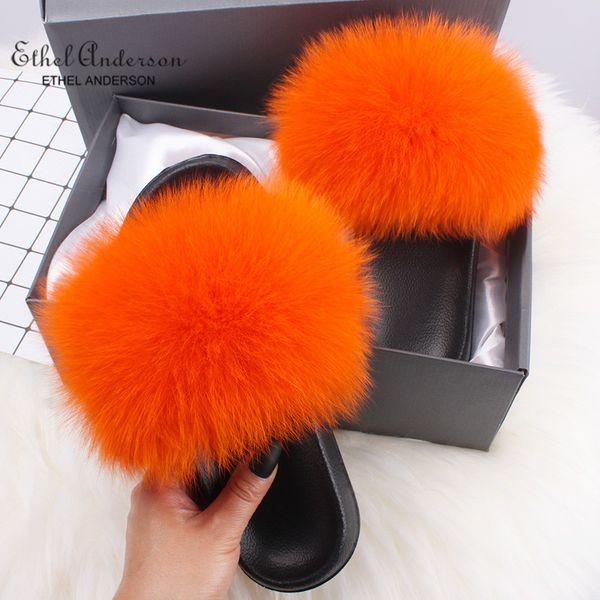 Pele de raposa laranja