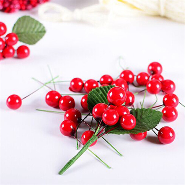 Christmas Decorations for Home 100Pcs Christmas New Year Berry Tree Decoration Navidad 2018 Kerst Natal.Q
