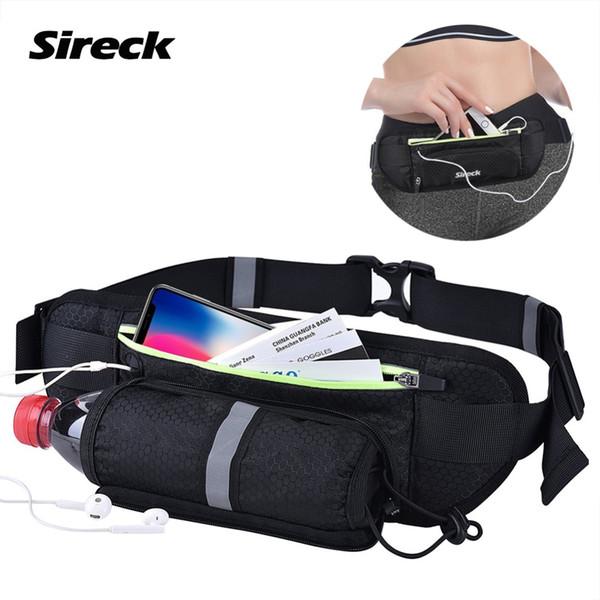 Sireck Impermeabile Con Tasca Marsupio Sport Palestra Marsupio Per 6 pollici Smart Phone Size Running Marsupio