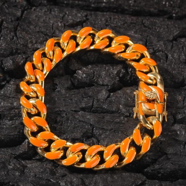 Gold Orange 8inch