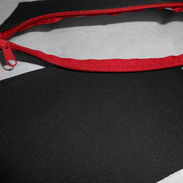 Fermeture Éclair Noire / Rouge