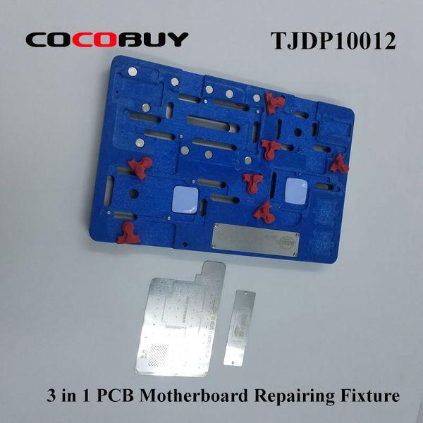 3 em 1 Precision PCB Titular Reparo De Solda Luminária Telescópio Motherboard Plataforma de Reparo Do Telefone Ferramentas de Ferramentas Conjuntos TJDP10011