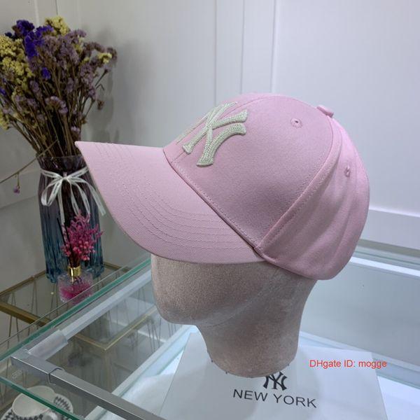 Yeni Beyzbol Şapkası Nakış Mektup Güneş Ayarlanabilir Snapback Kapaklar Hip Hop Dans Şapka Açık Erkek Kadın Lüks Tasarımcı şapkalar siyah feansh7