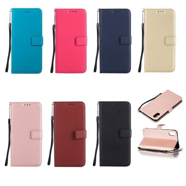 Flip Cüzdan Kılıf Samsung Galaxy S3 Için S4 S5 S6 S7 S8 S9 S10-5G Lite kenar Artı mini Deri Flip Telefon Kapak