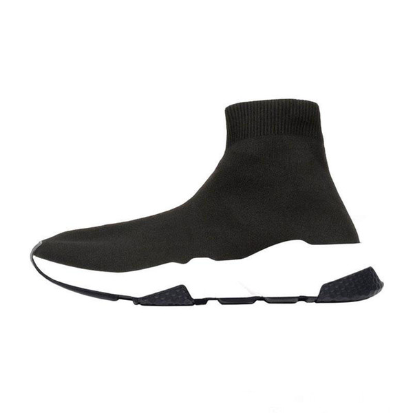 With Box 2019 Designer Men Women Speed Trainer Boots Running Sock Shoes Fashion Red Blue Black Ladies Youth Trainers Sports Sneakers