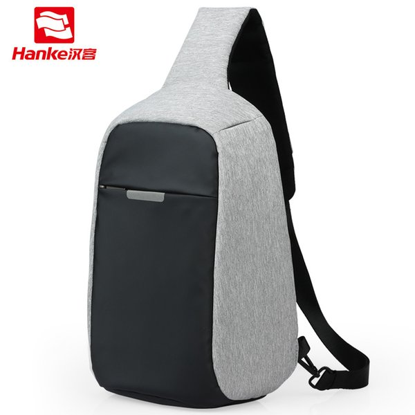 Mixi 2019 Anti-Theft Crossbody Bag Men Sling Chest Bag Fit 9.7 Inch Ipad Messenger Bag Sports Travel Small One Shoulder