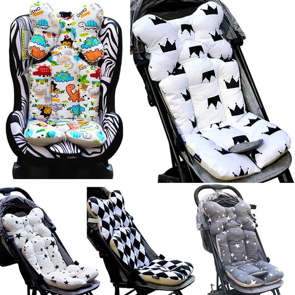 Comfortable Baby Stroller Pad Car Seat Thick Cushions 0-8 Year Baby Kids Care High Chair Seat Cushion Pushchair Strollers Pads 7