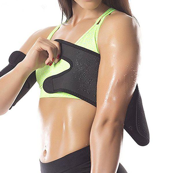 Sıcak Kol Şekillendirici Kol Kapak Spor Spor Koşu Kol Bandı Sıkı Ter Wrap Kol Shapewear 1 Adet LLA61