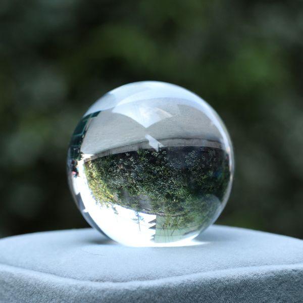 30/40mm Crystal Ball Natural Pink Amethyst Quartz Stone Sphere Crystal Fluorite Ball Healing Gemstone Diy Home Decor C19021601