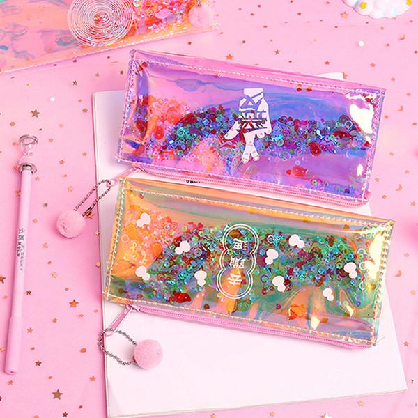 여성 투명 PVC 여행 화장품 가방 클리어 방수 지퍼 메이크업 가방 뷰티 주최자 케이스 세척 세면 가방