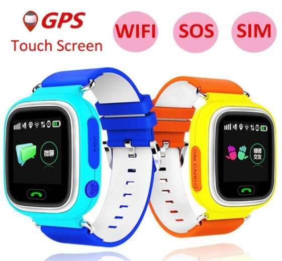 Q90 GPS Kids Smart Watch Baby Smartwatch GPS Position Wifi Location Finder for Kids Anti Lost Monitor with Touch Screen