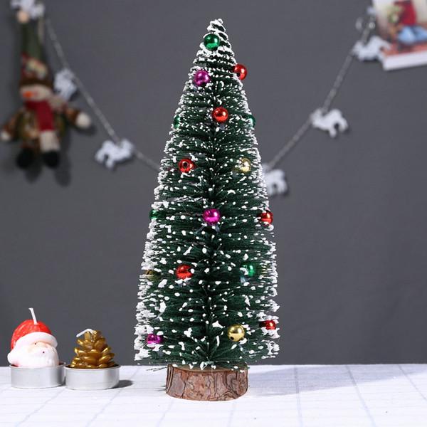 Weihnachtsschmuck für zu Hause 2019 Künstlicher Weihnachtsbaum kleiner Minibaumschmuck neues Jahr 2019 camiseta navidad