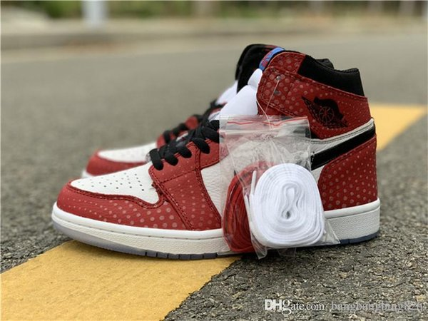 5c53c0ca3478ae 2018 Release Authentic 1 High OG Chicago Crystal 1S Gym Red Spider Man Blue -Black