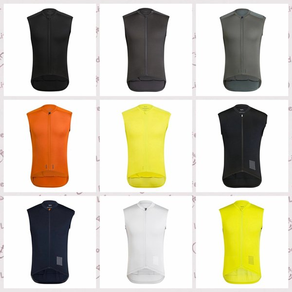 RAPHA Cycling Sleeveless jersey Vest Tops Summer Style For Men Bike Wear Bicycle Breathable quick dry Clothing camisa de ciclismo Q60427