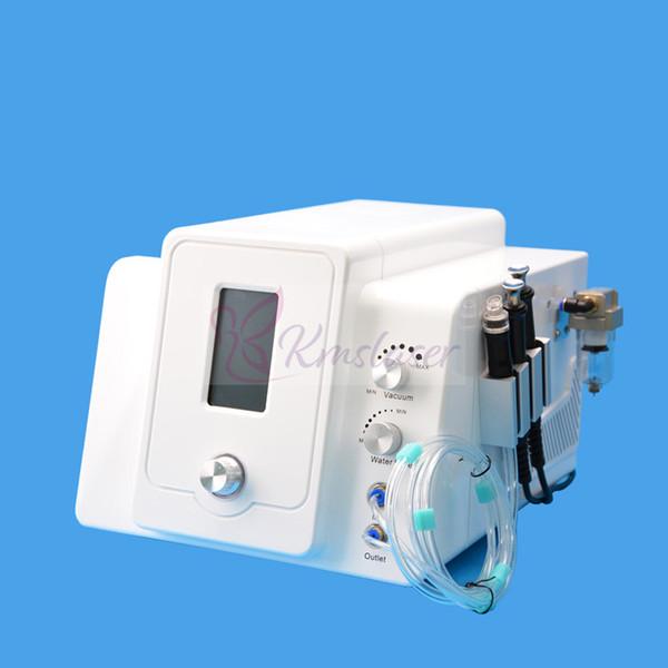 Portátil 2 em 1 hidro dermabrasion microdermoabrasão micro atual rejuvenescimento da pele elevador facial rejuvenescimento facial máquina de limpeza de spa