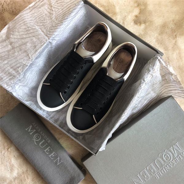 2019 Chaussures design baskets de luxe 3M réfléchissant pour fille femmes hommes rose or rouge confortable mode décontracté plat chaussures