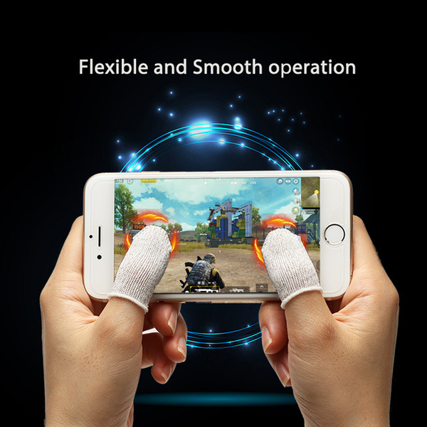 top popular PUBG Mobile Finger Stall Sensitive Game Controller Sweatproof Breathable Finger Cots Accessories For IPhone Adnroid Game Accessories 2020