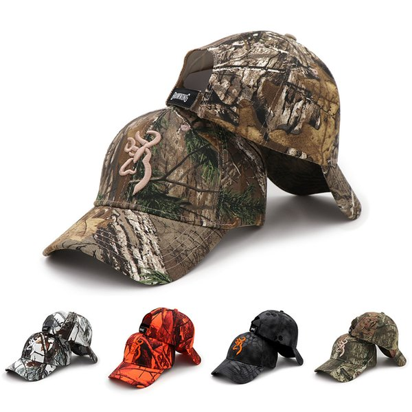 2020 new camo baseball cap fishing caps men outdoor hunting camouflage jungle hat airsoft tactical hiking casquette hats thumbnail