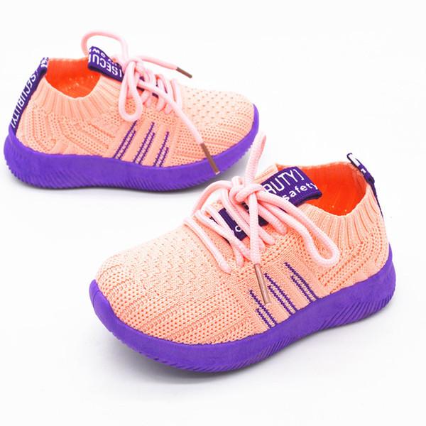Designer Toddler Chaussures Enfants Bébé Été Enfants Sneakers Infantile Courir Sport Chaussures Doux respirant Confortable Bébé Garçons Filles Enfant