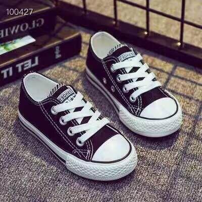 Kids Designer Shoes 2019 Brand Fashion High Quality Canvas Shoes Casual Classic Outdoor Luxury Trend High Shoes 4 Styles Size EUR22-36