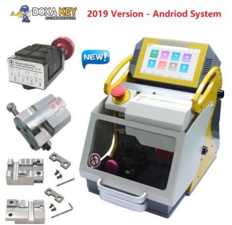 Máquina de corte de llaves de la mejor calidad libre de DHL Duplicadora de llaves láser Máquina de llaves de cerrajería Máquina de copia de llaves