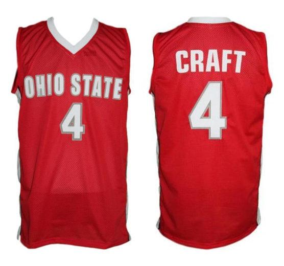 2019 4 Aaron Craft Ohio State Buckeyes College Retro Classic Basketball Jersey Mens Stitched Custom Number And Name Jerseys From Yufan5 23 35