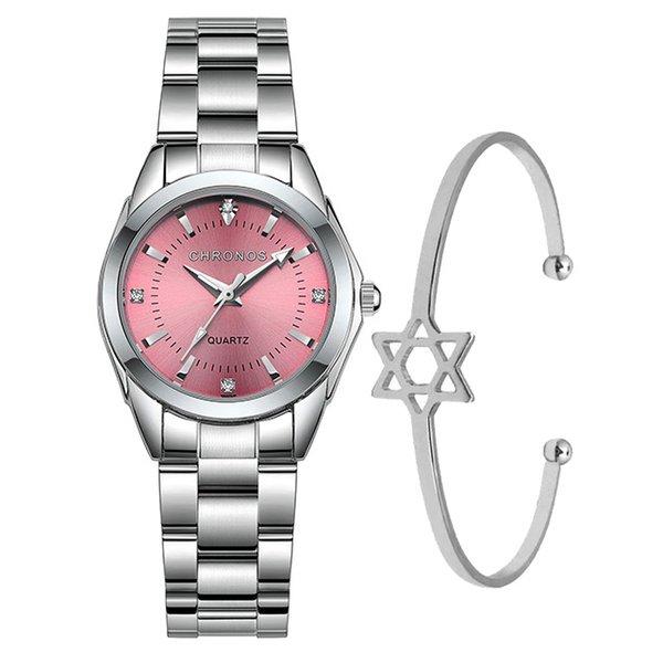 серебро розовый
