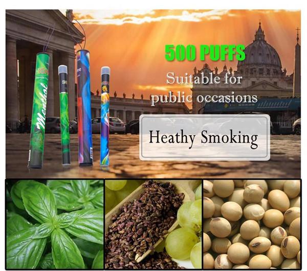 100% Shisha pen Eshisha Disposable Electronic cigarettes shisha time E cigs 500 puffs 30 type Various Fruit Flavors Hookah pen