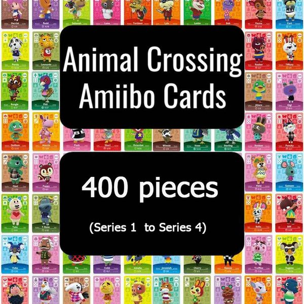 top popular 400 Animal Crossing Card Amiibo Card Full Set (Series 1 to Series 4) fast shipping 2020