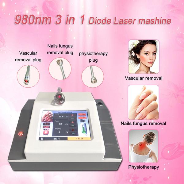 Diode laser 980nm machine ongles champignon laser équipement de physiothérapie physiothérapie santé laser thérapie beauté machine
