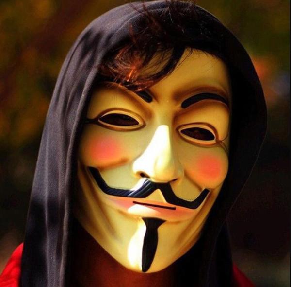 Halloween Party Mask V For Vendetta Mask Full Face Mask Anonymous