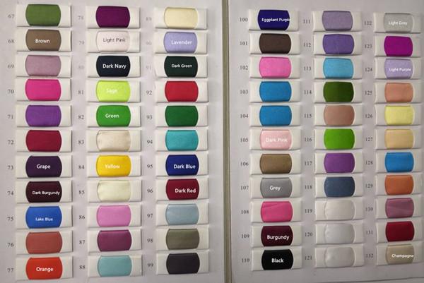 from seller's color chart