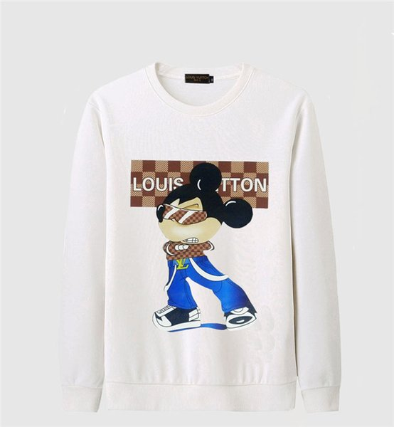 Marke Hoodies SS20 Designer Männer Hoodie Sweatershirt Sweater Mens Hoodies Marke Kleidung dünne langärmelige Jugend Bewegungen Streetwear # 4012
