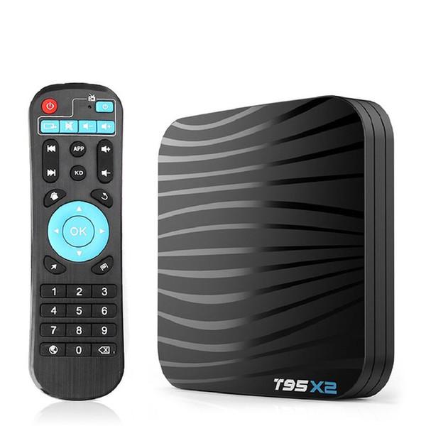 T95X2 Android 8.1 Smart TV BOX 4GB 32GB Amlogic S905X2 Quad Core 4K HDSet Top Box 5G WIFI 100M Media Player