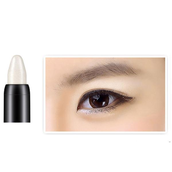 New Charming Highlighter Eyeshadown Pencil Glitter Effect Cosmetic Shiny Eye Shadow Long Lasting Eyeliner Pen
