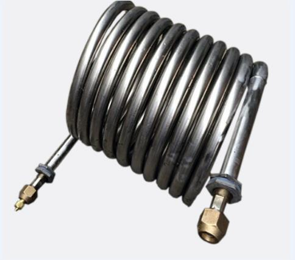 Titanium bend pipe fittings Best Selling titanium gr 2 alloy pipe coil Titanium alloy exhaust bend coil