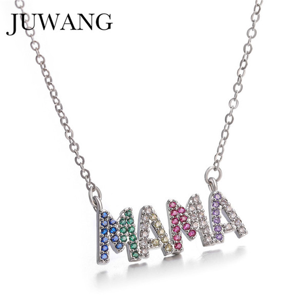 Letter Mama Necklace Mother/'s Love Pendant Jewelry Best Gift For Mother/'s Day