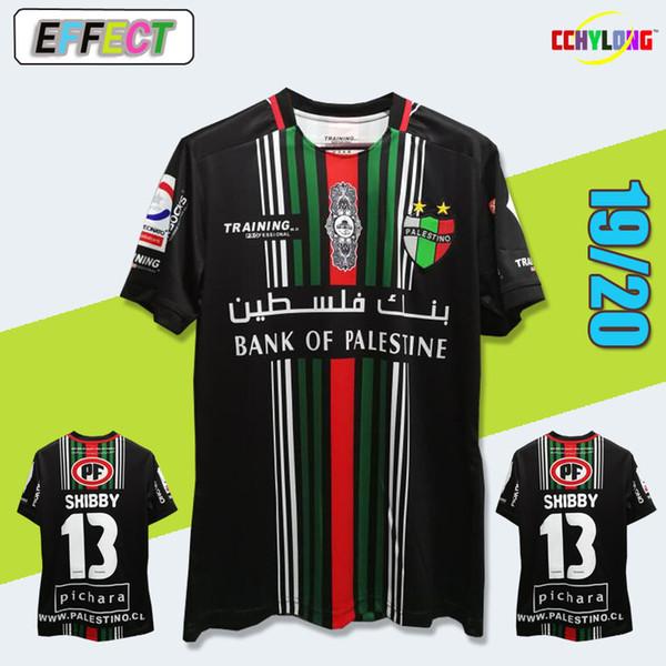 236202405f Compre Frete Grátis 2019 Palestina Camisa De Futebol Em Casa Número
