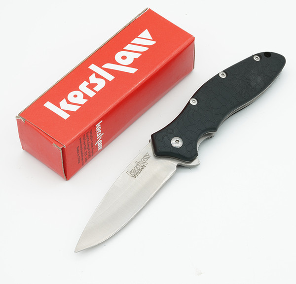 best selling Free DHL Kershaw Oso Sweet Assisted Opening Knife 8Cr13Mov Steel Satin 1830 Flipper EDC Folding Tactical Pocket Knives Tools with box