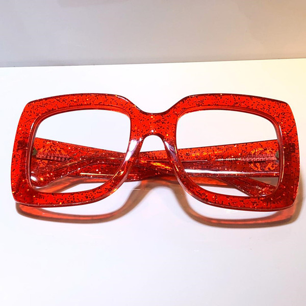 red clear lens