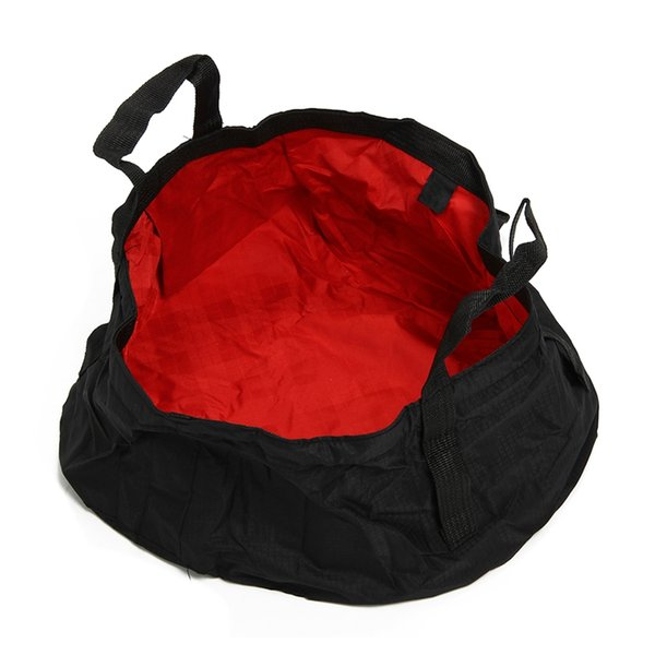 best selling Foldable Wash Basin Footbath Sink Water Bag Outdoor Camping Hiking 8.5L
