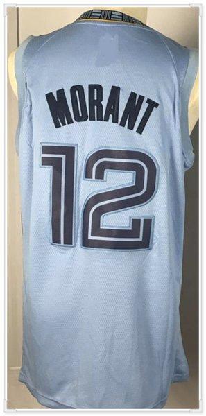 Memphis Ja # 12 Morant blu-luce